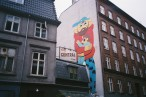 Street art and coffee shops